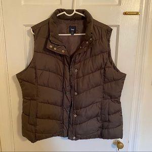 Gap Gray Puffy Vest